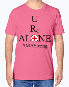 Medical and State Design #MAStrong on Bella + Canvas Unisex T-Shirt