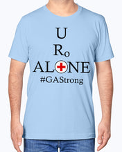 Load image into Gallery viewer, Medical and State Design #GAStrong on Bella + Canvas Unisex T-Shirt