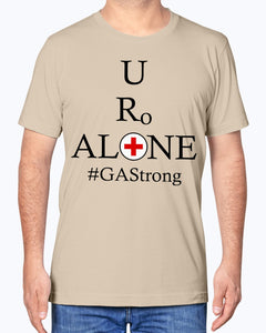 Medical and State Design #GAStrong on Bella + Canvas Unisex T-Shirt