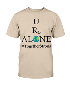 Global Design #TogetherStrong on Bella + Canvas Unisex T-Shirt