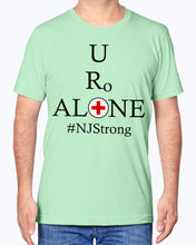 Load image into Gallery viewer, Medical and State Design #NJStrong on Bella + Canvas Unisex T-Shirt