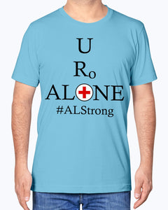 Medical and State Design #ALStrong on Bella + Canvas Unisex T-Shirt