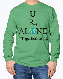 Global Design #TogetherStrong on Gildan Long Sleeve T-Shirt