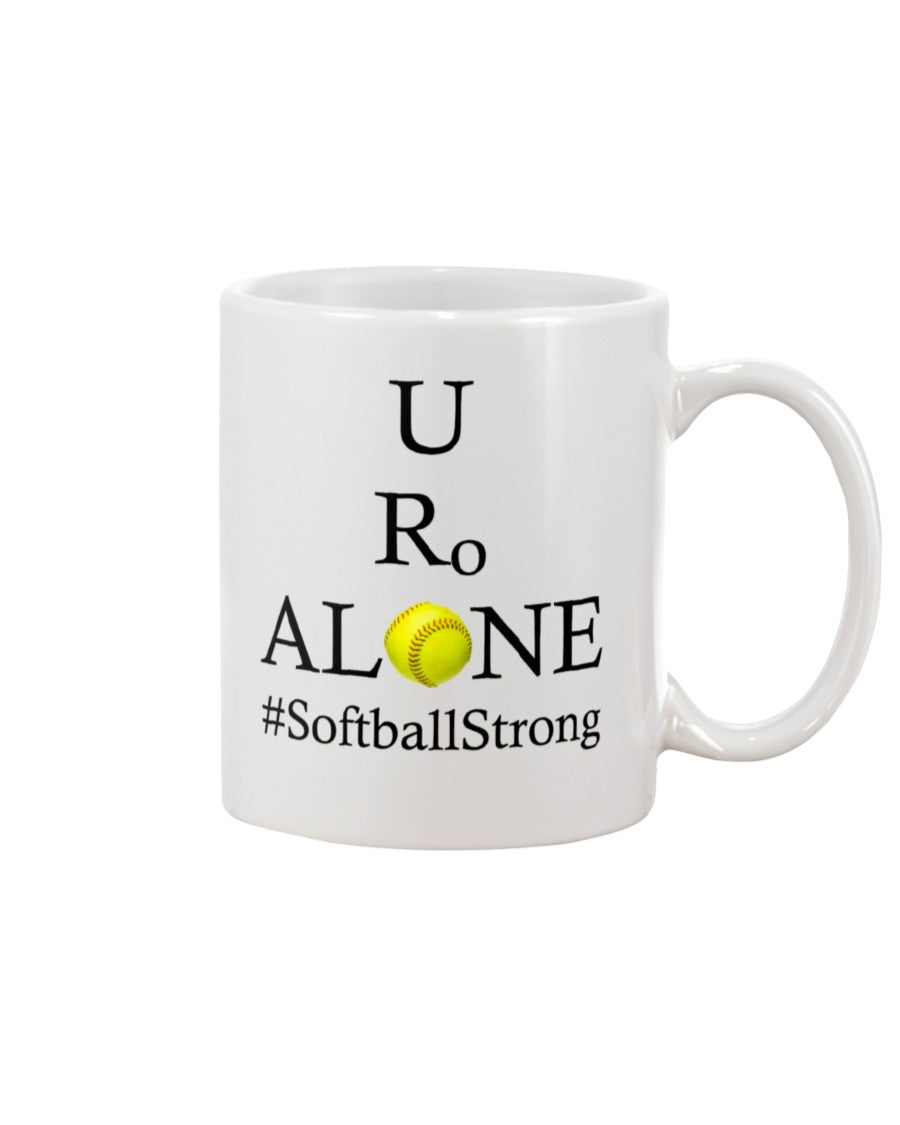 Softball Design on 15oz Mug