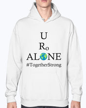 Load image into Gallery viewer, Global Design #TogetherStrong on Gildan 50/50 Hoodie