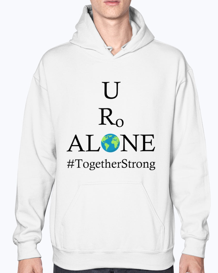 Global Design #TogetherStrong on Gildan 50/50 Hoodie