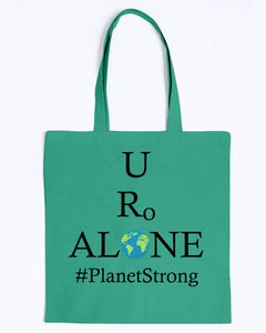 Global Design #PlanetStrong on BAGedge Canvas Promo Tote