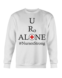 Nurses Design on Gildan Sweatshirt - Crew