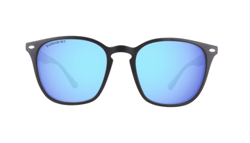 Smoke with Icy Blue Mirror / Polarized
