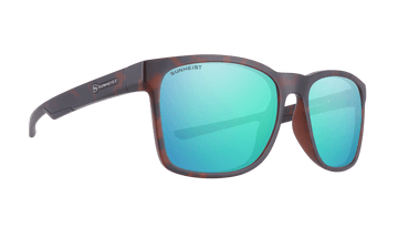 Brown with Green Mirror / Polarized