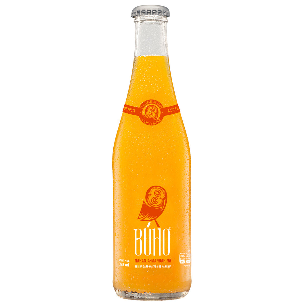 Refresco Naranja-Mandarina 355ml - FOODLAB STORE