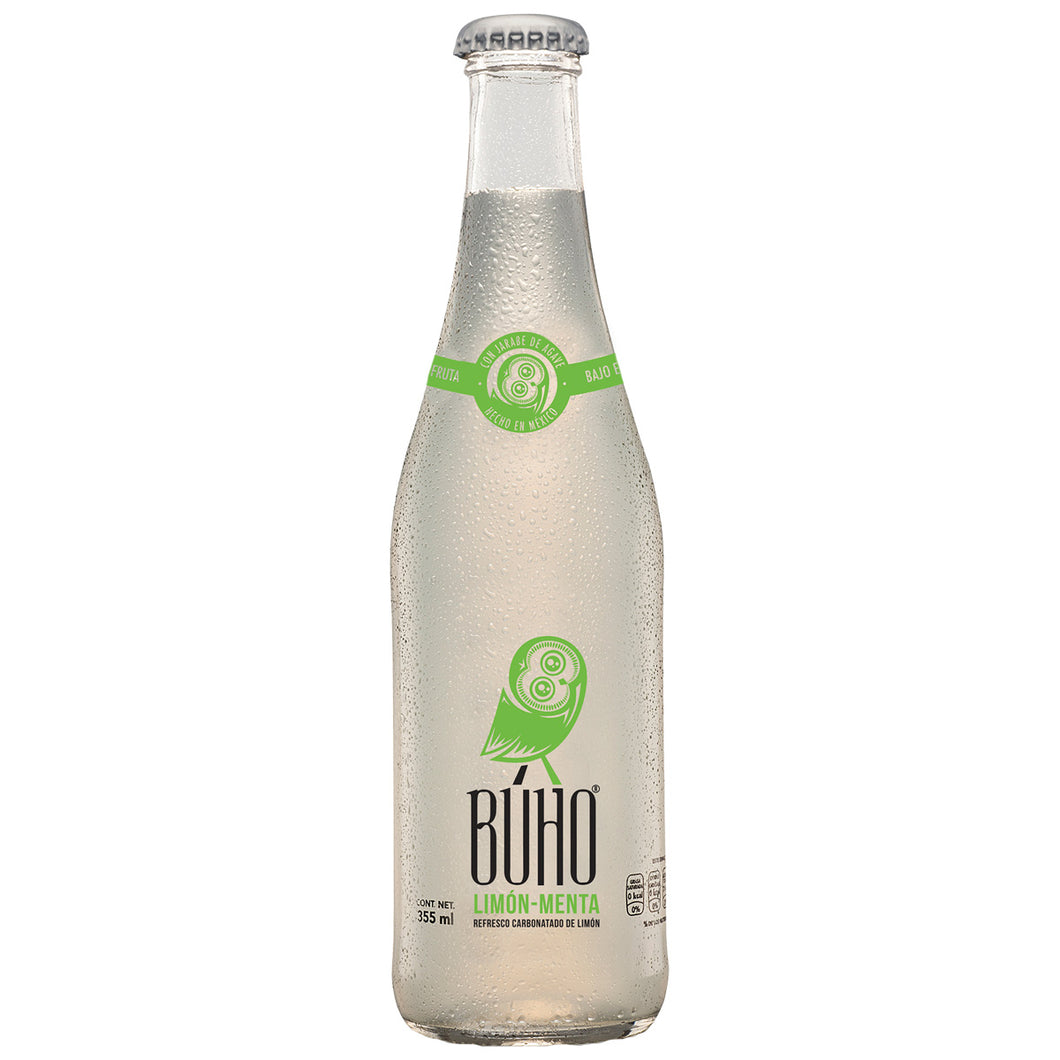 Refresco Limón-Menta 335ml - FOODLAB STORE