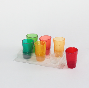 Vasos comestibles 6-Pack Arcoiris - FOODLAB STORE