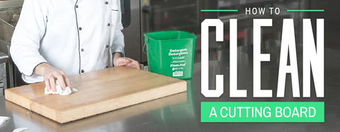 Care For Your Wood Cutting Board