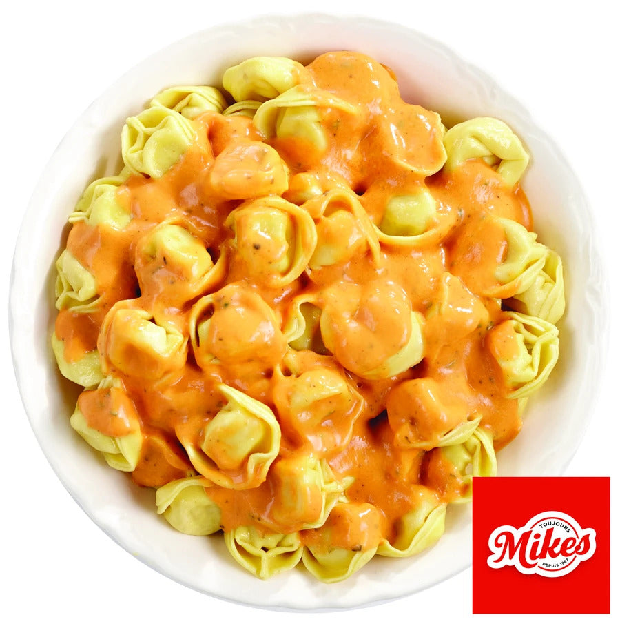 Tortellini with Rosée Sauce (Mikes)