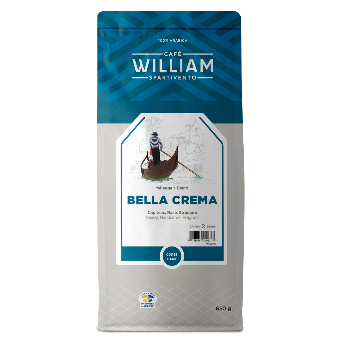 Bella Crema 650g DARK