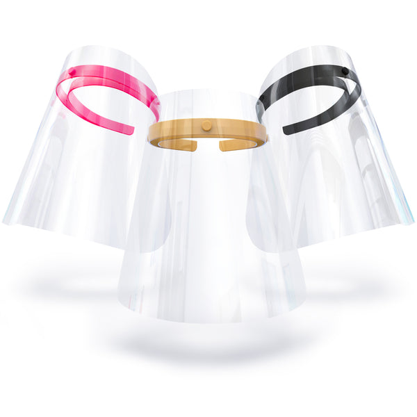 CITY, Set of 3 Shields: gorgeous gold, power pink and bold black