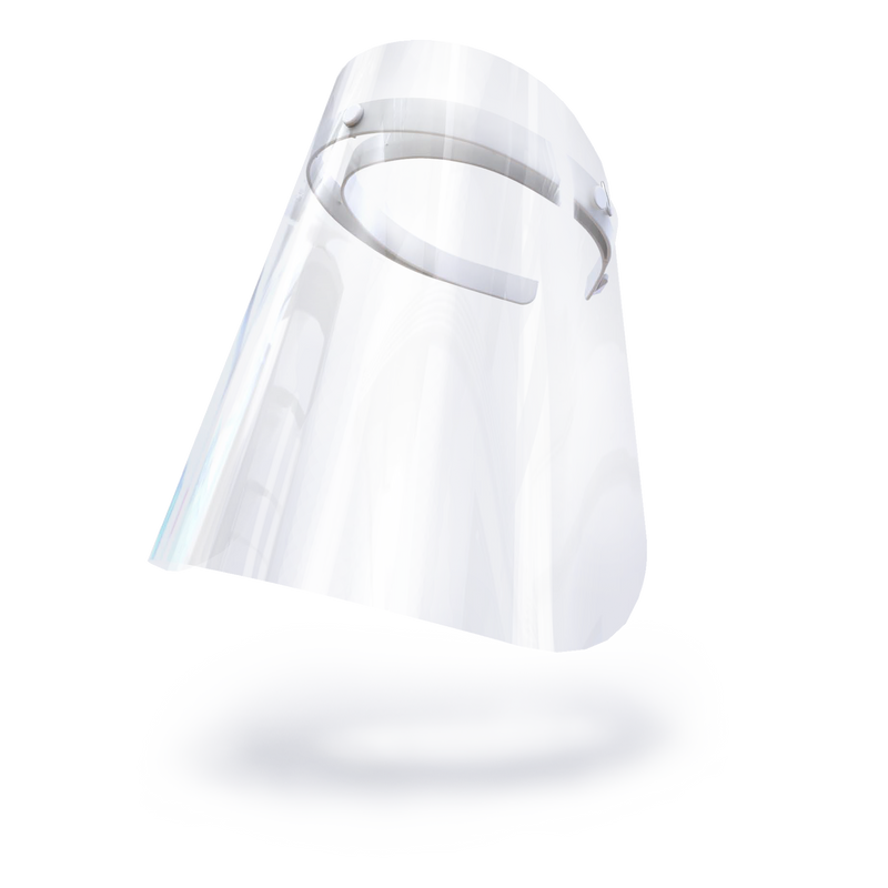 Kids Face Shield - Wonder White