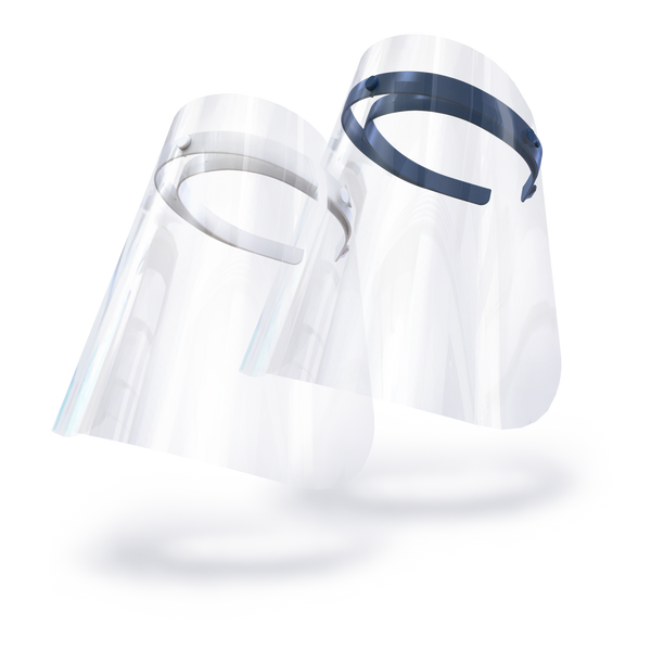 Face Shield - Twin Pack Wonder White & Nifty Navy