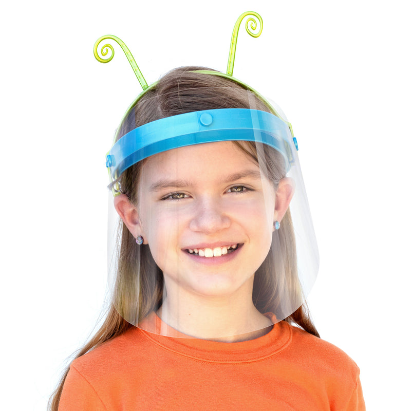 Face Shield Topper - Woodle Bug