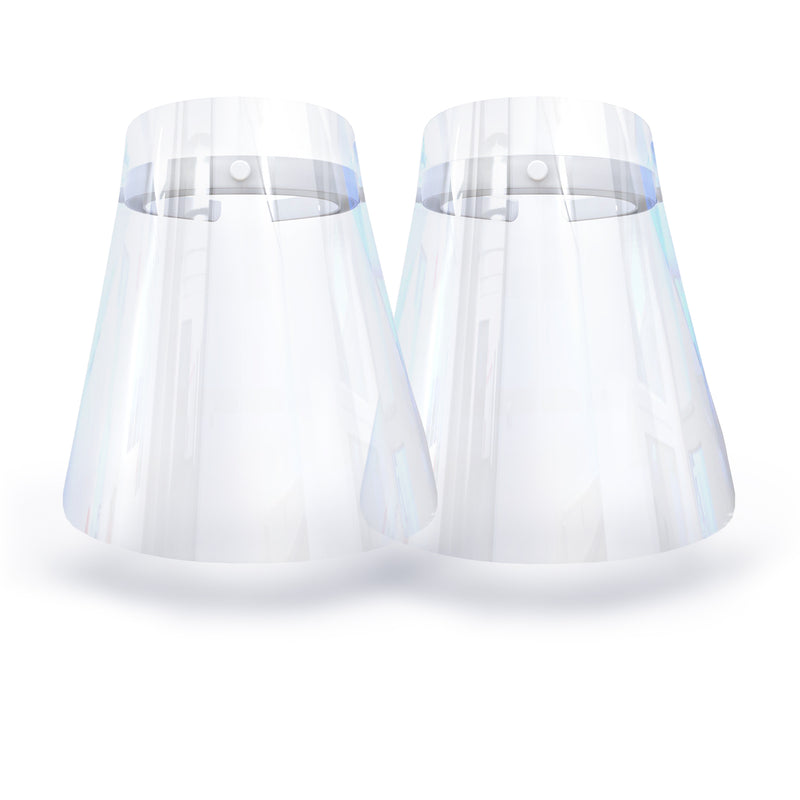 Face Shield - Twin Pack Wonder White