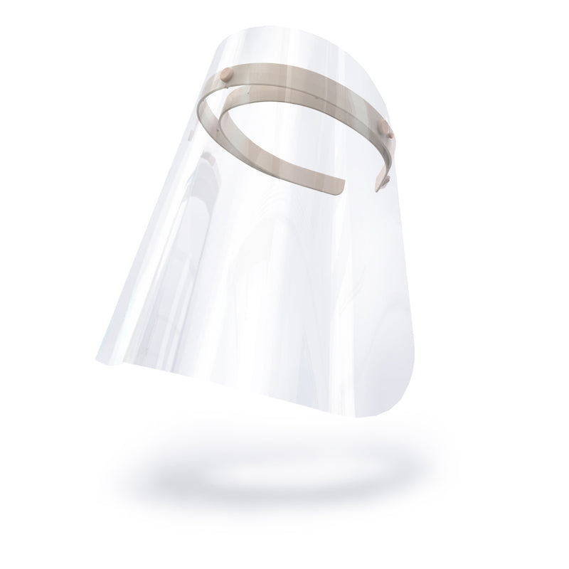 Kids Face Shields Light Colored