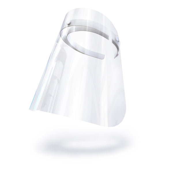 Toddler Face Shields Light Colored