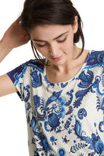 Load image into Gallery viewer, Desigual Melian Short Sleeve Top