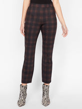 Load image into Gallery viewer, Carnaby Kick Crop Redwood Plaid Pant