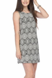 Medallion Lace Shift Papillon Dress
