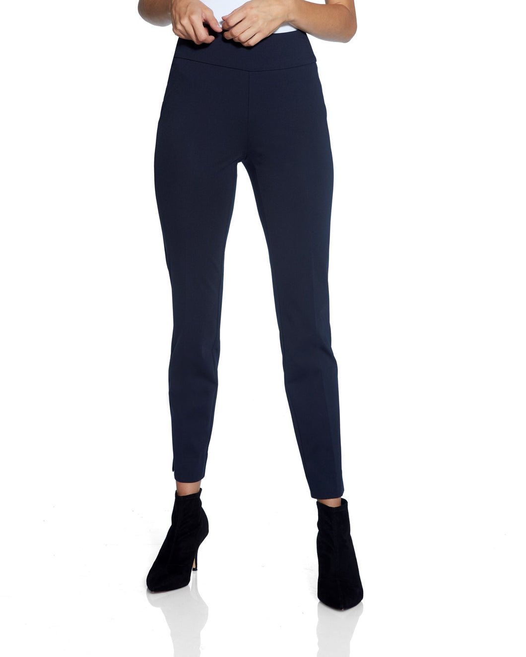 UP! Pant Roma Basic Slim Pant - Navy