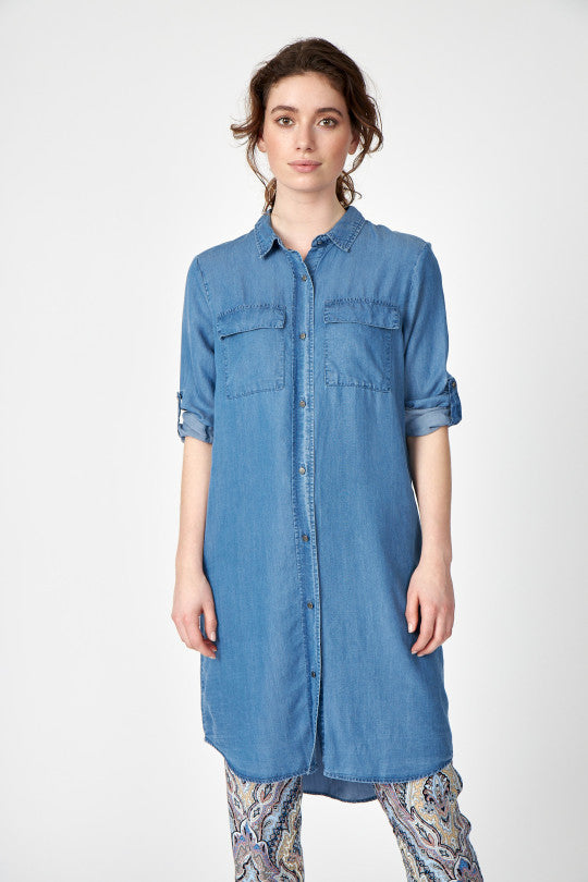 Soya Concept Lyocell Denim Dress