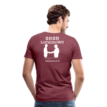Load image into Gallery viewer, Covid-19 POF - heather burgundy