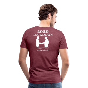 Covid-19 POF - heather burgundy