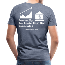 Load image into Gallery viewer, Cash Flow Appreciation - heather blue