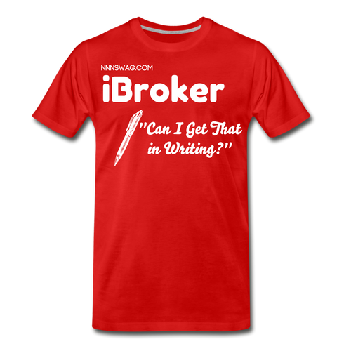 iBroker | High Performance Brokerage - red