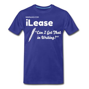 iLease | High Performance Leasing & Management - royal blue