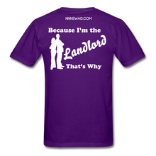 Load image into Gallery viewer, Straight Outta Lease Term Tee - purple