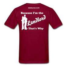 Load image into Gallery viewer, Straight Outta Lease Term Tee - burgundy