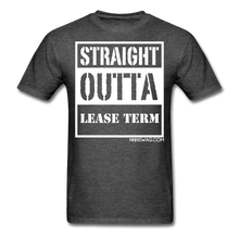 Load image into Gallery viewer, Straight Outta Lease Term Tee - heather black
