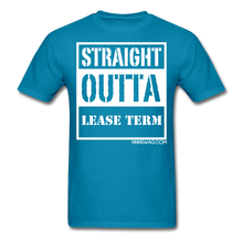 Load image into Gallery viewer, Straight Outta Lease Term Tee - turquoise