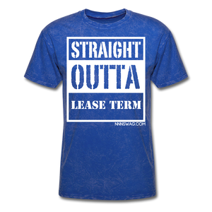 Straight Outta Lease Term Tee - mineral royal
