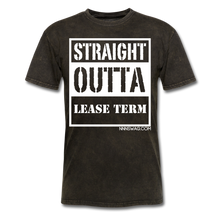 Load image into Gallery viewer, Straight Outta Lease Term Tee - mineral black