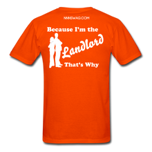 Load image into Gallery viewer, Straight Outta Lease Term Tee - orange