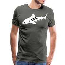 Load image into Gallery viewer, NNN Shark Tee - asphalt gray