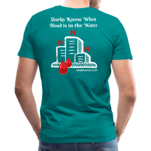 Load image into Gallery viewer, NNN Shark Tee - teal