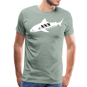 NNN Shark Tee - steel green