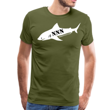 Load image into Gallery viewer, NNN Shark Tee - olive green