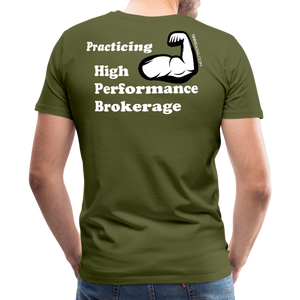 iManage | High Performance Brokerage - olive green