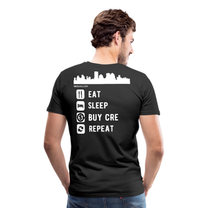 NNN Restaurant Investment Tee - black